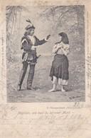 AK Engelbert Humperdinck - Königskinder  - Mägdlein, Wie Hast Du So Roten Mund - 1901 (49310) - Opera