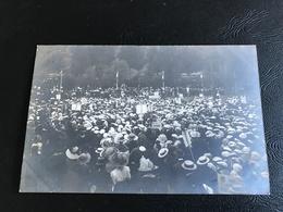 CARTE PHOTO TARARE Fete Gymnique Des 29 Et 30 Juin 1912 - Regroupement Des Sociétés - Tarare