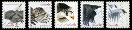Canada (Scott No.2930-34 - Oiseaux / Birds) (o) Set - 1952-.... Règne D'Elizabeth II