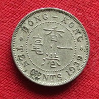 Hong Kong 10 Cents 1939 - Hong Kong