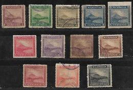 1899-900 Nicaragua Monte Momotombo 12v. - Nicaragua