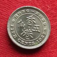 Hong Kong 5 Cents 1937 KM# 20 *V2 Hongkong - Hong Kong