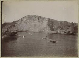 2 Tirages Citrates Vers 1898. Port. Ruines D'un Cirque Romain De Philippeville. Algérie. - Photographs