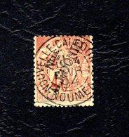 Nouvelle Calédonie 40C Type Sage, Avec Charnière - Used Stamps
