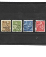 353-ALLEMAGNE-III REICH-1943 YT 769 à 772   **  COTE 6.80 EUROS - Germany