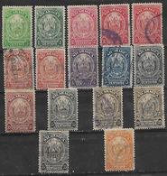 1905-6 Nicaragua Escudo De Armas 16v. - Nicaragua