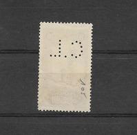 """MAROC YT 1105 De 1923/1927   / PERFORE  """"  C.L  """"   Porte De Chella  20 Centimes Lilas - Maroc (1891-1956)"""