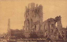 QA - Ypres - Les Ruines: Interieur Des Halles ( Market) - Other