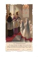 Image Pieuse Souvenir D'une Confirmation Faite En L'église De Moyenmoutier En 1942 - Maison Bouasse-Lebel 6257 - Images Religieuses
