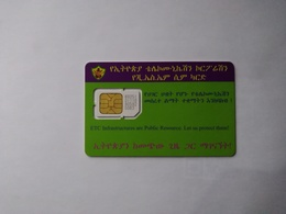 Ethiopia GSM SIM Cards, (1pcs,MINT) - Etiopía