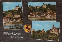Hirschhorn - Mit Burg - 1963 - Heppenheim