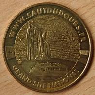 Jeton Touristique (25 - Doubs)   VILLERS LE LAC - SAUT DU DOUBS ET SES BASSINS 2010 - Monnaie De Paris