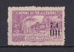 Colonies Française - ALGERIE - COLIS POSTAUX - Timbre Neuf **  N° YT 137a - SANS La Surcharge - - Paquetes Postales