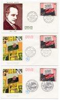 FDC France 1965 - Le Violon Rouge De Dufy - YT 1459 - 75 Paris & 76 Le Havre - FDC