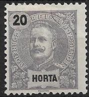 Horta – 1897 King Carlos 20 Réis - Horta