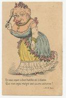 CPA. Cochon Humanisé.animaux Habillés. Une Jolie Cochonne !          .E.89 - Pigs
