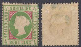 HELIGOLAND - 1867 - Yvert 1 DI SECONDA SCELTA. - Heligoland (1867-1890)