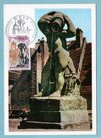 Carte Maximum 1971 - Dole - YT 1684 - 29 Dole - Cartes-Maximum