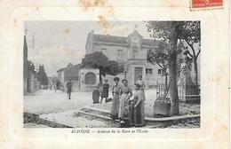 11    Alzonne       Avenue De La Gare & L'école - France