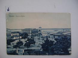 """BRAZIL / BRASIL - POST CARD FOR MANAUS """"PRAÇA DA MATRIZ"""" 1917 IN THE STATE - Manaus"""