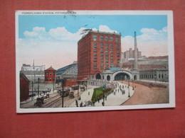 Pennsylvania Train Station    Pittsburgh Pennsylvania >   Ref 4003 - Pittsburgh