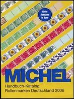 Michel Handbuch-Katalog Rollenmarken Deutschland 2006 Neu KL - Germany