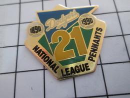 616a  Pin's Pins / Beau Et Rare / THEME : SPORTS / BASEBALL  DODGERS 11890 1990 21 NATIONAL LEAGUE PENNANTS - Béisbol