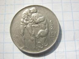 Albania , 1/2 Lek 1926 - Albania