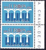 Island Iceland Islande - Europa (Mi.Nr. 614) 1984 - Postfrisch MNH - 1984