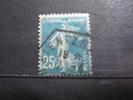"""VEND BEAU TIMBRE DE FRANCE N° 140 , CACHET HEXAGONAL """" KIENTZHEIM """" !!! - 1906-38 Semeuse Camée"""