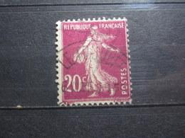 """VEND BEAU TIMBRE DE FRANCE N° 190 , OBLITERATION """" LE TOUQUET """" !!! - 1906-38 Semeuse Camée"""