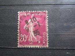 """VEND BEAU TIMBRE DE FRANCE N° 190 , OBLITERATION """" ST-VALERY-EN-CAUX """" !!! - 1906-38 Semeuse Camée"""