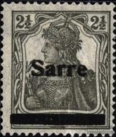 Saar 2a III Fine Used / Cancelled 1920 Germania - Oblitérés