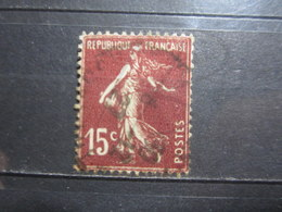 VEND BEAU TIMBRE DE FRANCE N° 189 + FOND LIGNE VERTICAL !!! - Variedades Y Curiosidades