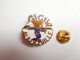 Superbe Pin's En EGF , Armée Militaire , Gendarmerie , GIGN Albertville , JO Jeux Olympiques - Militaria