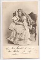 FF 709 OLD ( 1903)  FANTASY POSTCARD ,  FINE ART  , FEMALE FIGURATIVE - Mujeres