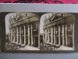 PHOTO STEREO ROME  VATICAN - Proclamation De L'élection Du PAPE PIE X  -  1903  Etat Correct - Photos Stéréoscopiques