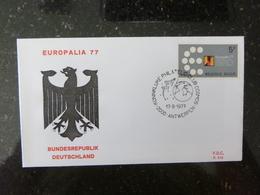 """BELG.1977 1867 FDC ( Antwerpen) :  """" Europalia 77 """" - FDC"""