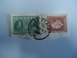 GREECE POSTMARKS ON PAPER   STAMPS  ΙΣΤΙΑΙΑ 1940 - Affrancature Meccaniche Rosse (EMA)