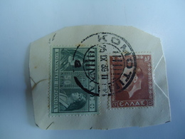 GREECE POSTMARKS ON PAPER   STAMPS  ΚΟΜΟΤΙΝΗ - Affrancature Meccaniche Rosse (EMA)