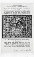 (RECTO / VERSO) CHAUMONTEL PAR LUZARCHES - N° 11 - SAINT THARCISIUS - CPA NON VOYAGEE - Frankreich