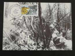 Carte Maximum Card Résistance Hommage Au Maquis Thorens Glières 74 Haute Savoie 1994 - Guerre Mondiale (Seconde)
