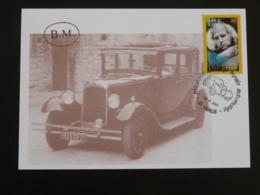 Carte Commemorative Card Postale Rurale Automobile Citroen C4 Genlis 21 Cote D'Or 2001 - Automobili
