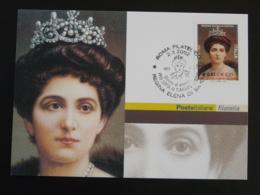 Carte Maximum Card Helene De Savoie Italie Italy Italia 2002 - Familles Royales