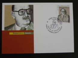 Carte Maximum Card Police Carabinieri Carlo Alberto Dalla Chiesa Italie Italy Italia 2002 - Policia – Guardia Civil