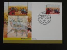 Carte Maximum Card Tournoi De Barletta Medieval History Italy Italia 2003 - Cartes-Maximum (CM)