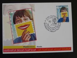 Carte Maximum Card Philatélie à L'école Italy Italia 2004 - Cartes-Maximum (CM)