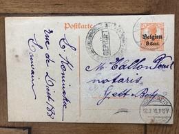 "L.Koninckx Louvain Leuven à Notaire Tallon Geetbets ""gepruft "" 1918 - Leuven"
