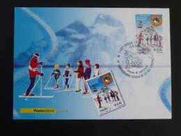 Carte Maximum Card école De Ski Du Mont Cervin Italie Italy Italia 2006 - Ski