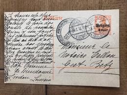 Baronne De Dieudonne Linden Leuven Korbeek-lo à Notaire Tallon Geetbets 1918 - Leuven